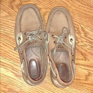 Sperrys. Pre-Owned. Only worn about 5 times.